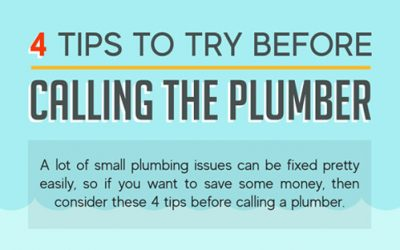 4 Tips to Try Before Calling the Plumber