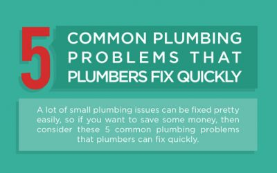 5 Common Plumbing Problems that Plumbers Fix Quickly