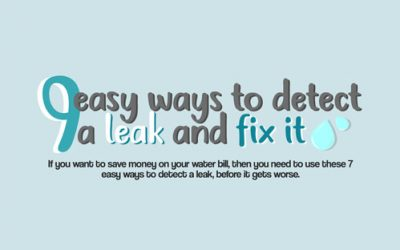 9 Easy Ways to Detect a Leak and Fix it